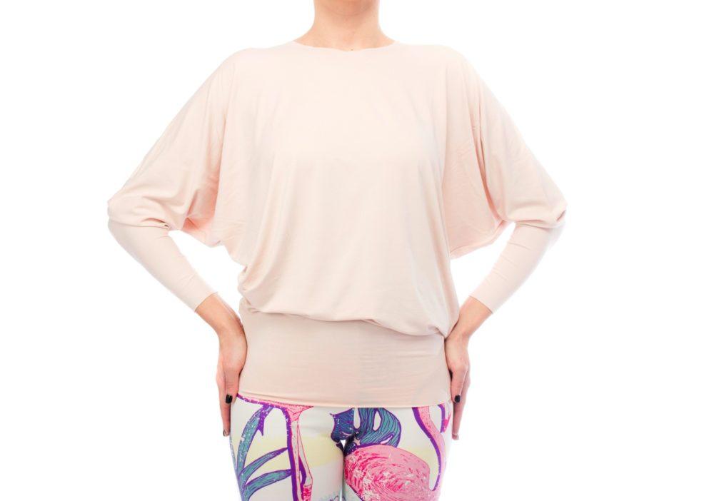 Retro Flamingo Tunic Blush Pink 2