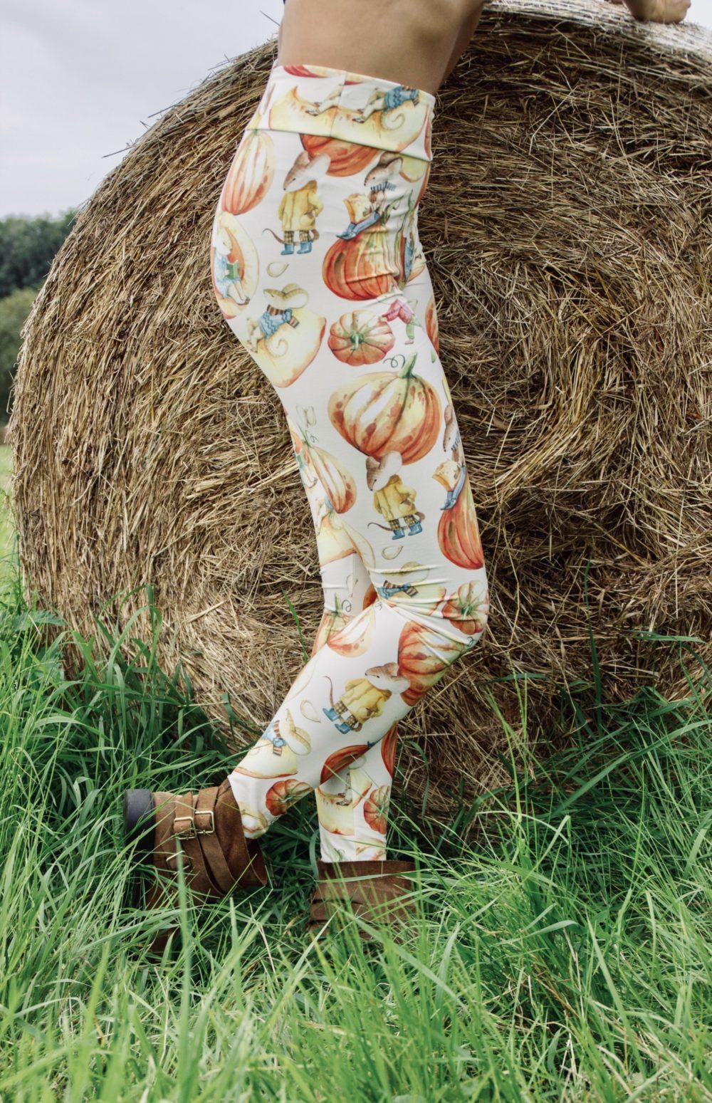 Pumpkin Leggings Ultra Soft S/M 2