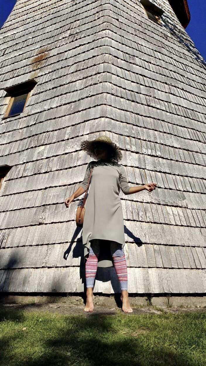 Sofie Dress Olive S/M & L/XL 4