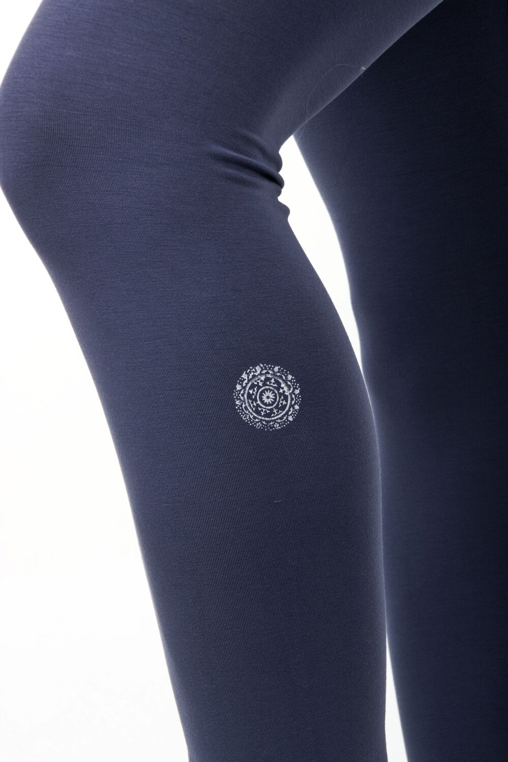 Indigo Grey Yogis Leggings S/M 2