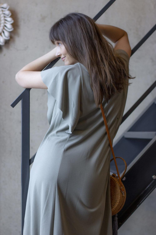 Mona Olive Dress 6