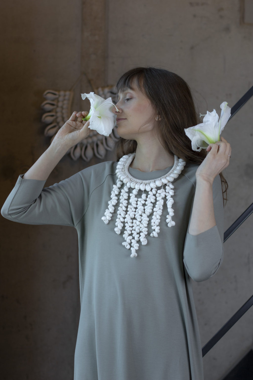 Lola Olive Dress 5