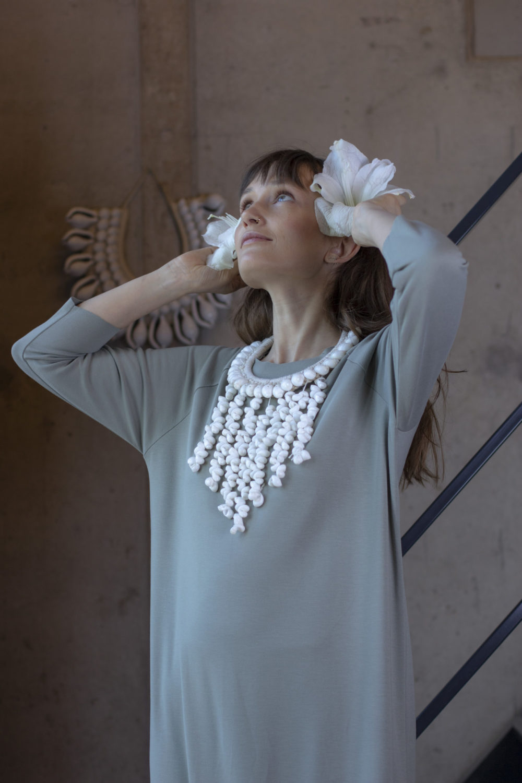 Lola Olive Dress 6