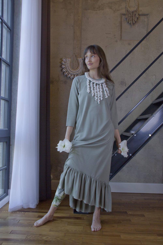 Lola Olive Dress 10