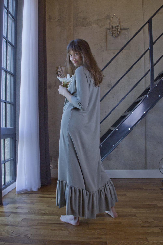 Lola Olive Dress 11