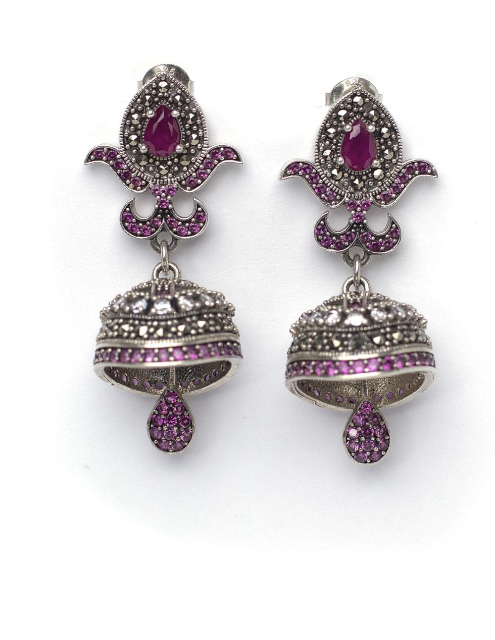Luxury Ruby Earring 1