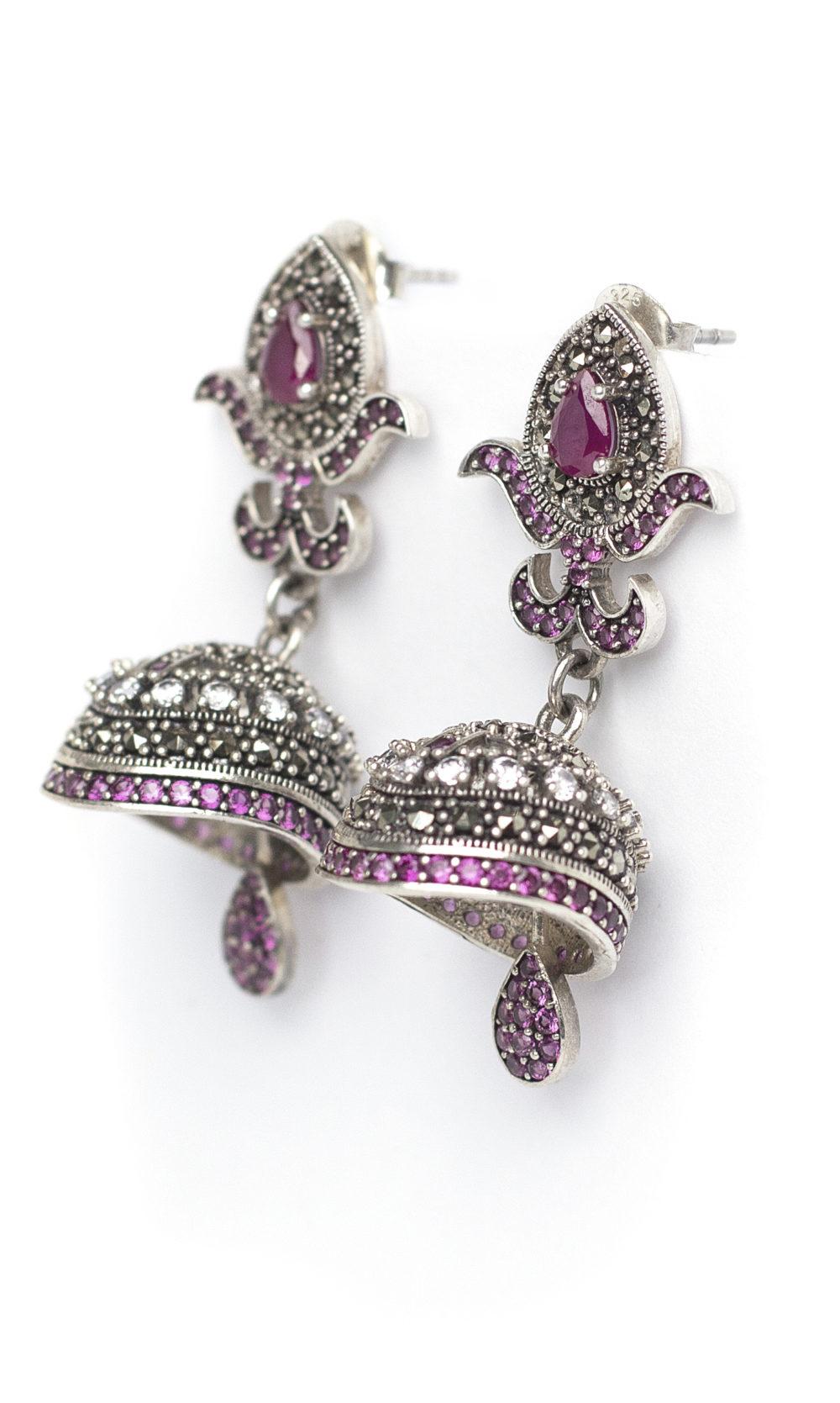 Luxury Ruby Earring 2