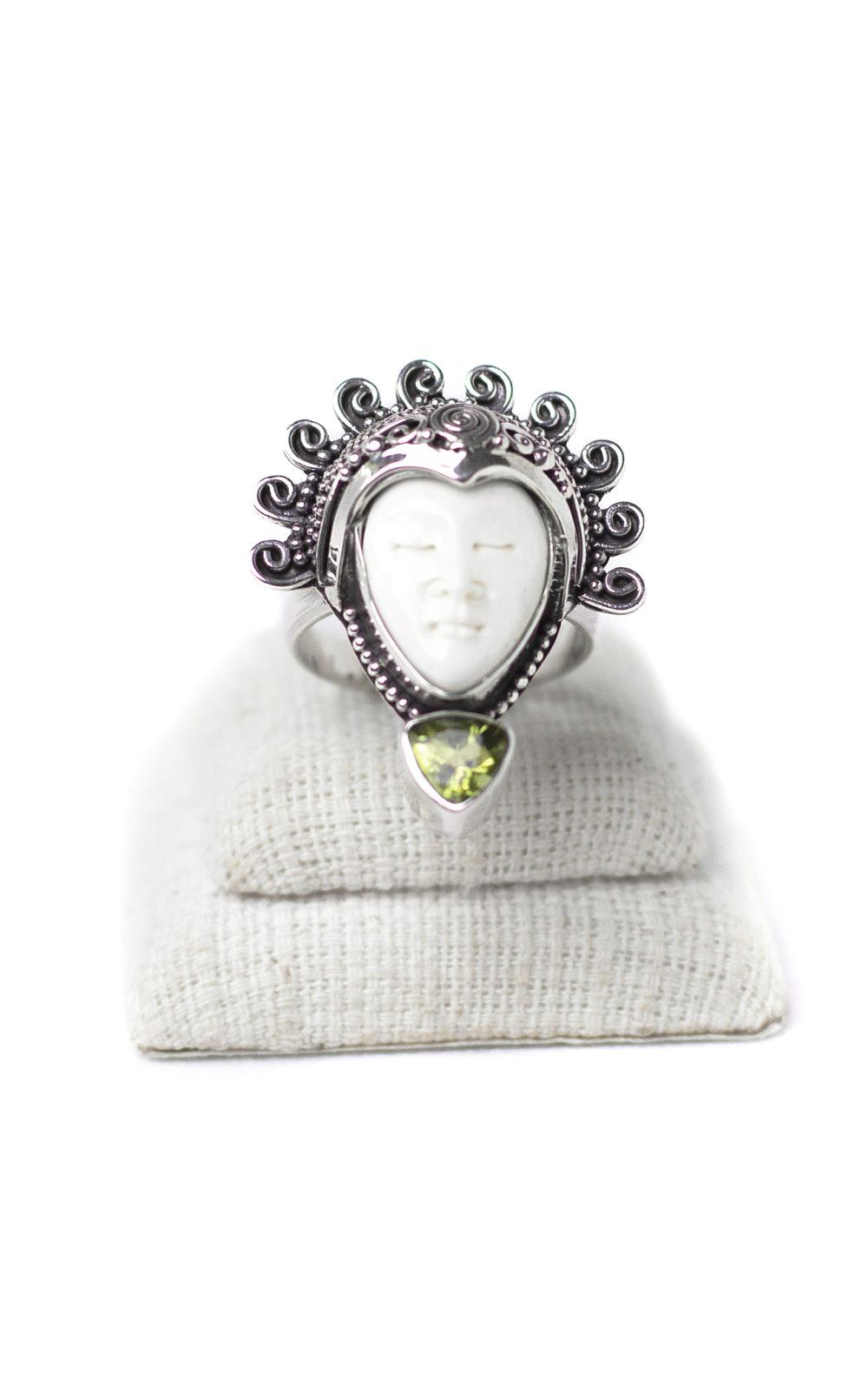 Peridot Goddess Ring 2