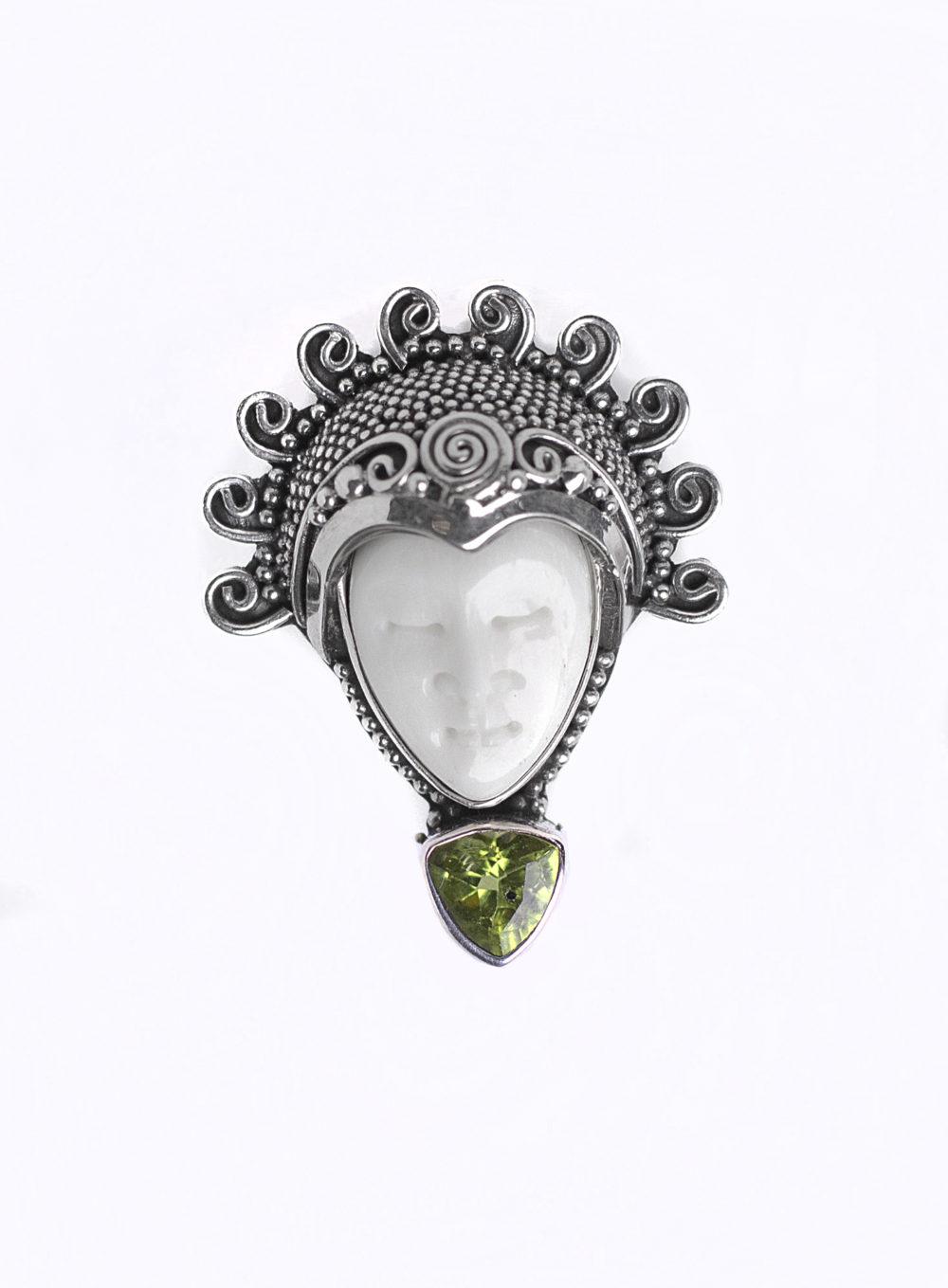 Peridot Goddess Ring 4
