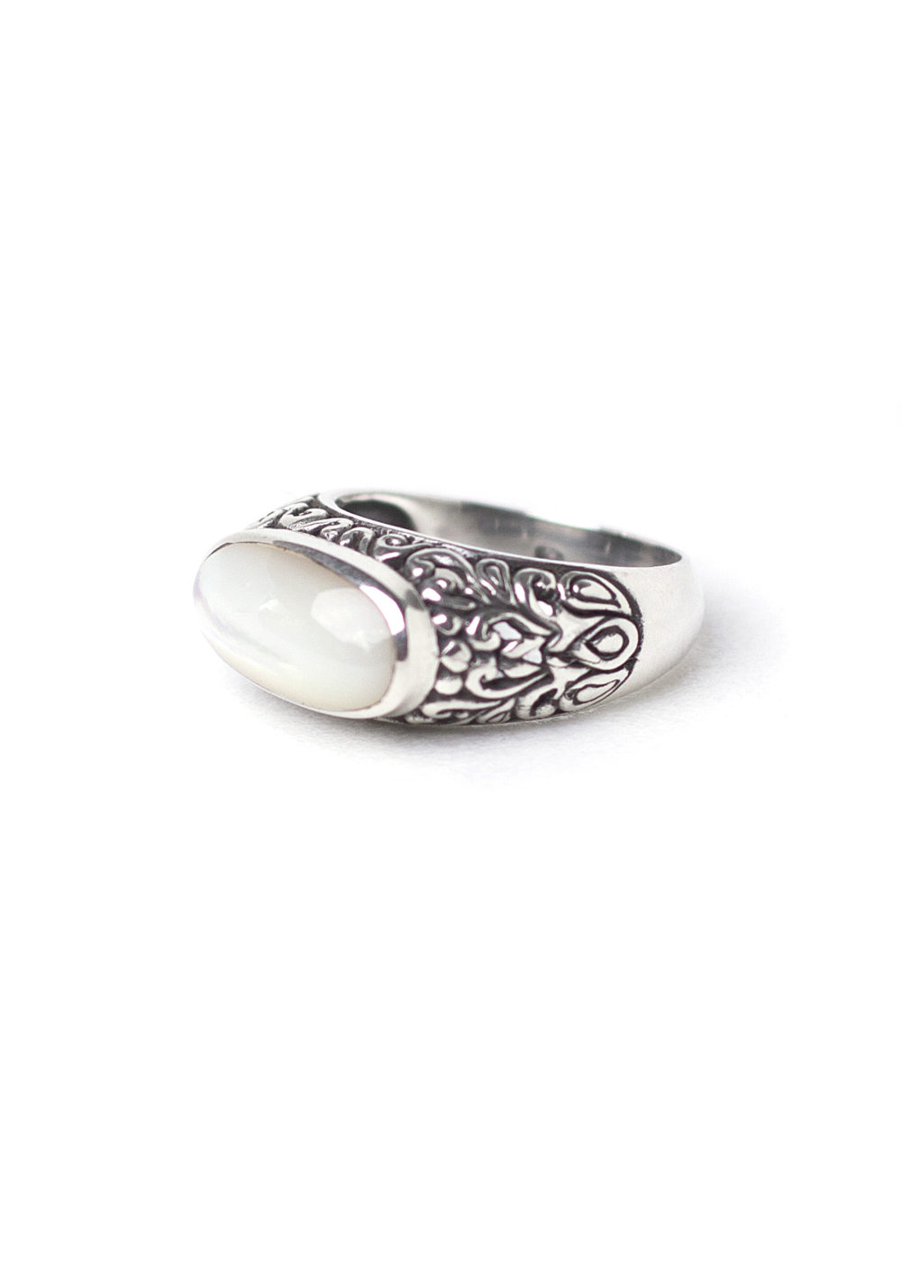 Mother Pearl Ring 1