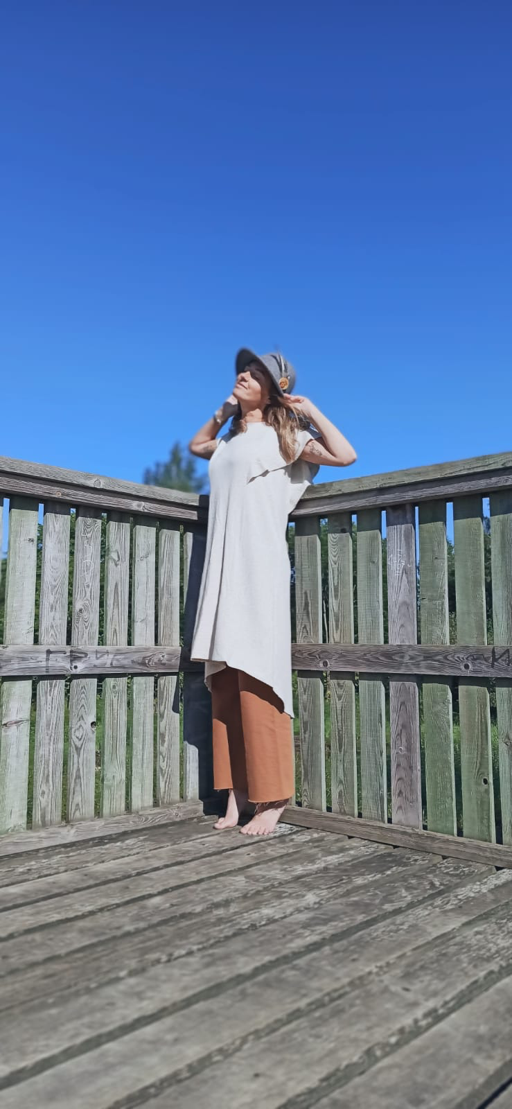 Mona Linen O/S 4
