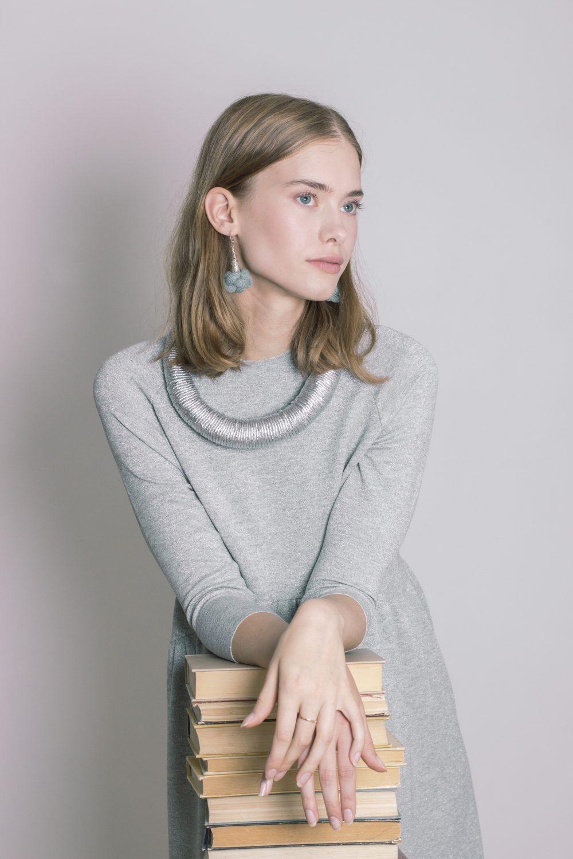 Diamond Knot Earrings 2
