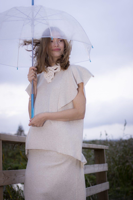 Linen Gileté & Skirt S/M 1