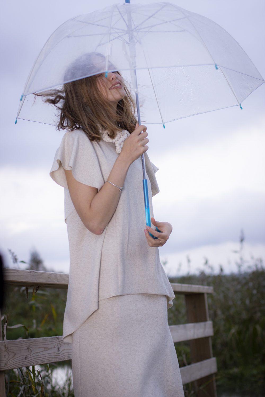 Linen Gileté & Skirt S/M 10