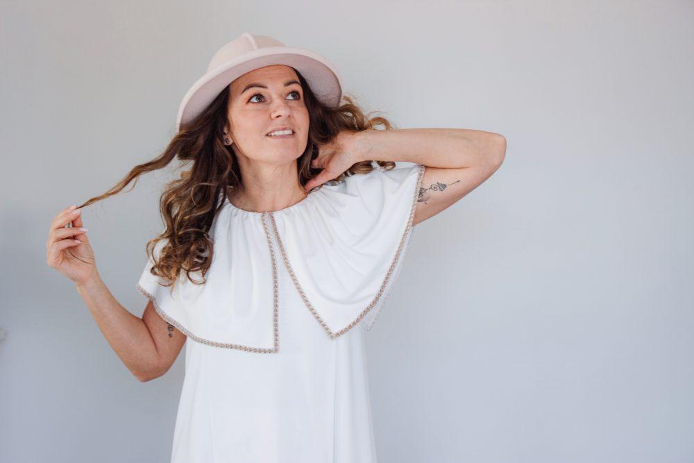 Yoko Dress Ecru S/M 9
