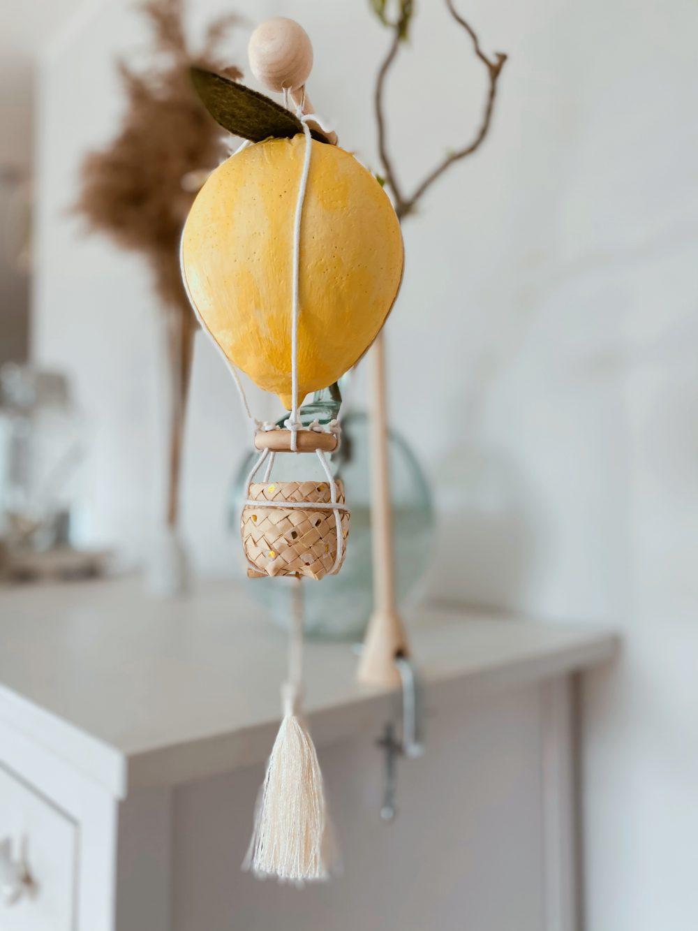 Lemon Balloon 4