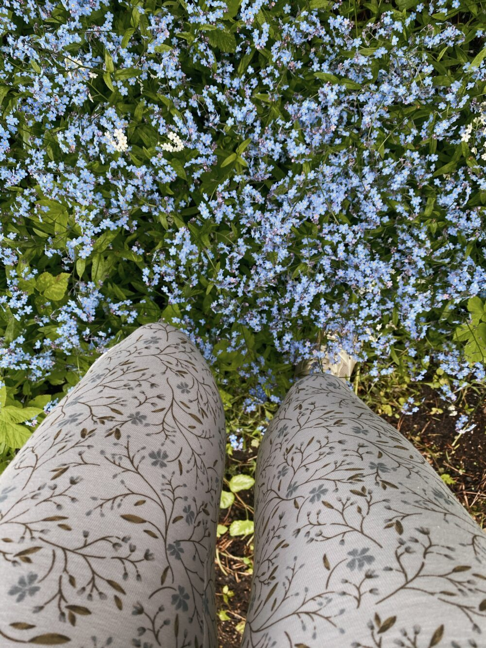 Forget-Me-Not Leggings S/M 5