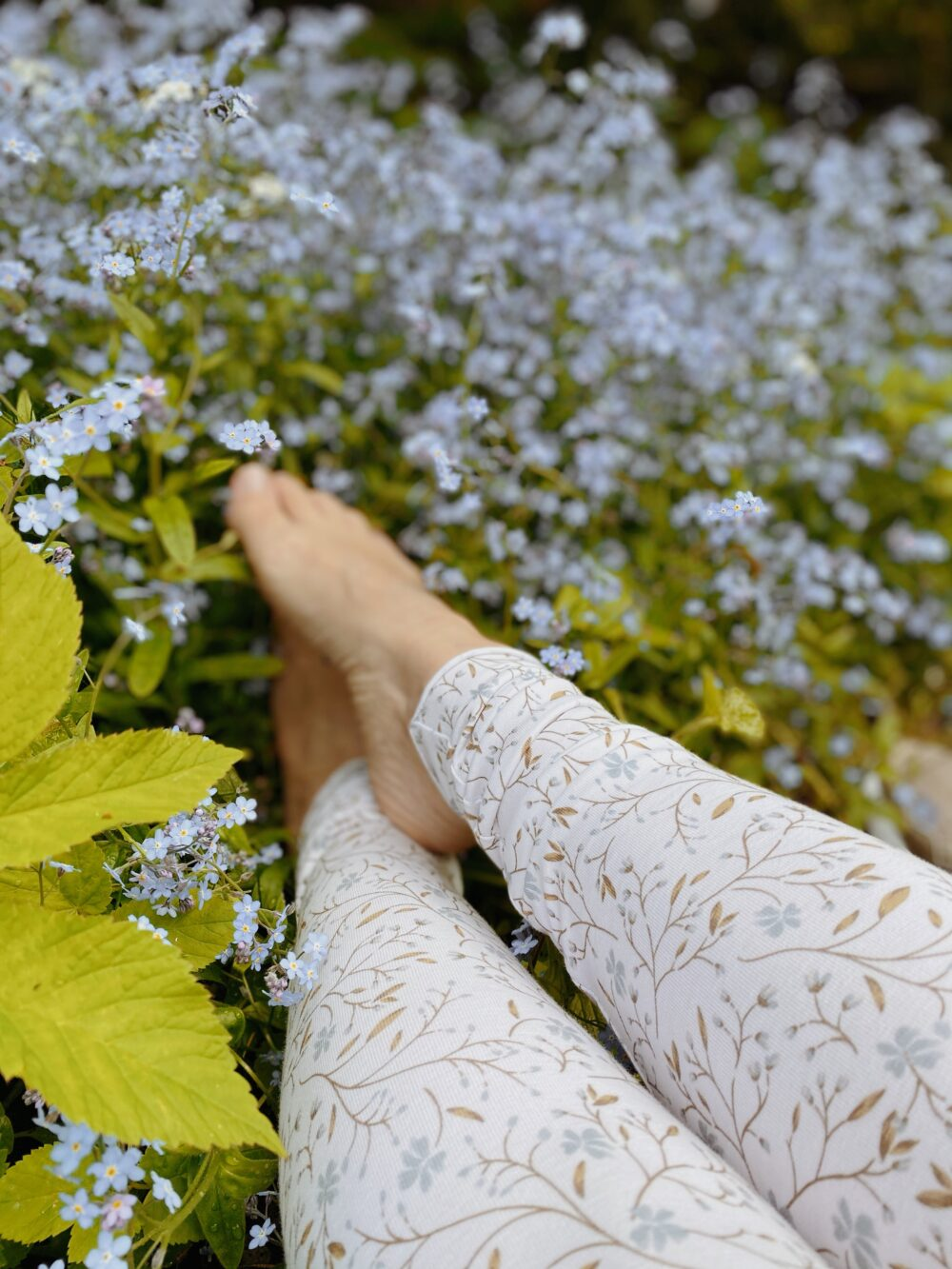 Forget-Me-Not Leggings S/M 4