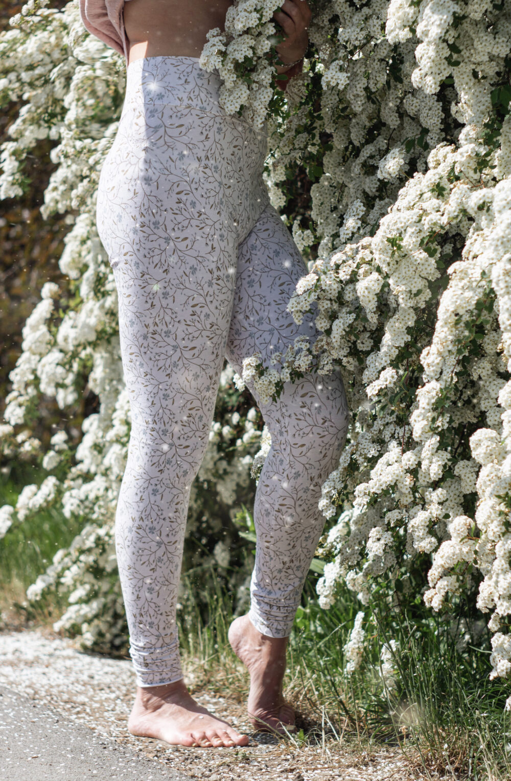 Forget-Me-Not Leggings S/M 1