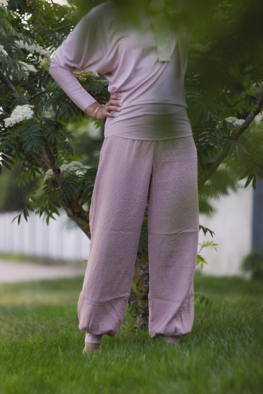 Rosé Comfort Pants S/M 4
