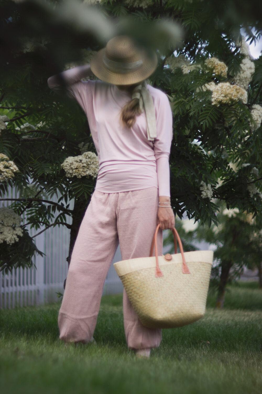 Rosé Comfort Pants S/M 3