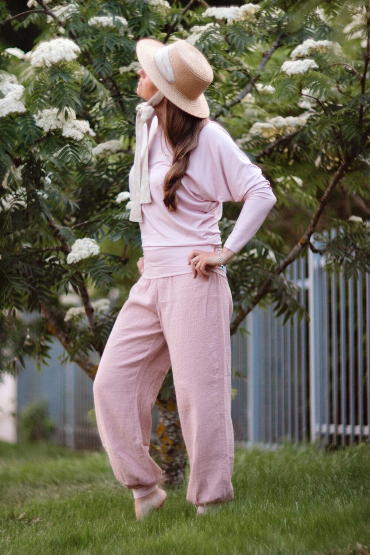 Rosé Comfort Pants S/M 1